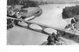 B  01  -  CPSM  De  LAGNIEU  -  Le  Nouveau  Pont  Sur  Le  Rhône - France