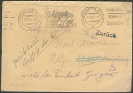 III.Reich, Feldpostbrief  Ludwigshafen-32295-zurück , Mit Inhalt, Feinst/pracht - Cartas