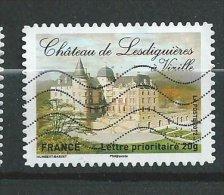 France Oblitéré Récent -  Autocollant Chateau - France