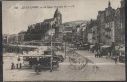 CPA - LE TREPORT - LE QUAI FRANCOIS 1ER (autobus) - Edition L.L. /N°109 - Le Treport
