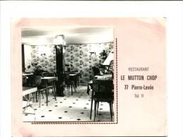 PHOTO - PIERRE LEVEE (77) Le Mutton Chop  Restaurant - Places