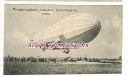 BADEN BADEN : DIRIGEABLE SCHWABEN. PASSAGIER LUFTSCHIFF. - Zeppeline