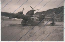 Foto photo Flugzeug Blohm & Voss BV138 fliegender Schuh in Norwegen avion aeroplane aircraft