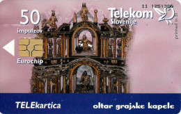 *SLOVENIA* - Scheda A Chip Usata - Slovenia