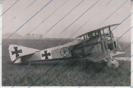 Foto photo Flugzeug WWI SPAD VII abgeschossen von Jasta 36 am 6.4.1917 avion plane aircraft