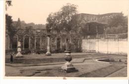 Carte-Photo Gevaert-Villers-la-ville / Abbaye De Villers/ Villers En Brabant -jardin De L'abbé - Villers-la-Ville