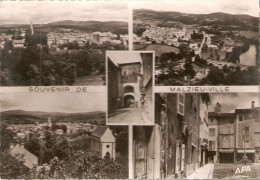 MALZIEU VILLE.......5 Vues....1952......15 X 10.5 - Autres Communes