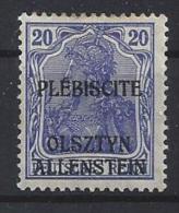 Germany (Allenstein) 1920 (*) Mi.5 - Abstimmungsgebiete