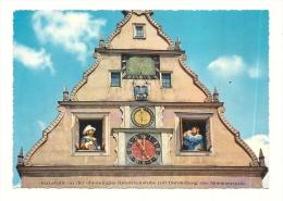 Cp, Allemagne, Rothenburg, Kunstuhr Am Markplatz - Rotenburg