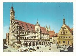 Cp, Allemagne, Rothenburg, Rathaus - Rotenburg