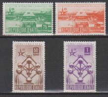 Haïti N° 374 - 377 *** Exposition Universelle Et Internationale De Bruxelles - 1958 - Haïti