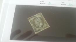 LOT 216337 TIMBRE DE FRANCE OBLITERE N�11 VALEUR 100 EUROS