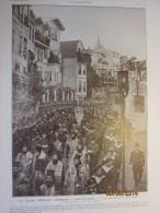 1912 Turquie Istambul Ceremonie  Chretienne CONSTANTINOPLE   Funerailles  Patriarche   Grec Joachim III Quartier Phanar - Non Classés