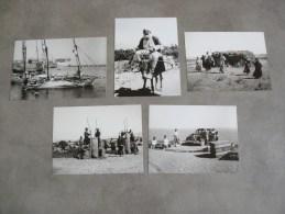 LOT LES 5  PHOTOS  TRIPOLI AU LIBAN   ET EN SYRIE ALEP ..TYR ...DAPHNEE Pillage Du Reglisse ! - Reproductions