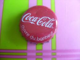 CAPSULE CAPS CHAPAS Soda COCA COLA ouvre du bonheur