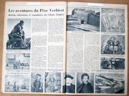 """Magazine Avec Article """"Chine, Les Aventures Du Père Verbiest (Pittem)"""" 1956 - Vieux Papiers"""