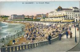 BIARRITZ  La Grande Plage  Neuve  Excellent état - Biarritz