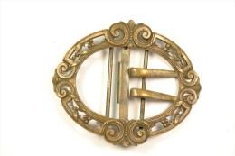 Ancienne boucle de ceinture en cuivre style 19eme Si�cle. Id�al reconstitution d�guisement