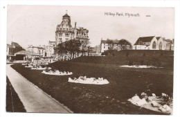 GB Vintage Postcard Millbay Park Plymouth Devon Posted In 1911 KGV Downey Head - Plymouth