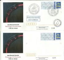 REUNION  PAP Maison Volcan Neuf Et Oblit, Vignette Bleu 809 - Lot B2K/06U344 ; Tirage 100, Oblit FDC CS 5/7 + CAD 5/8/14 - Other
