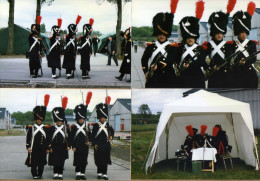 4 Photos Soldats Armées Napoléonniennes ? Napoléon ? - Non Classés