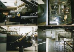 4 Photos Bombardier Anglais Halifax ? WWII - Aviation