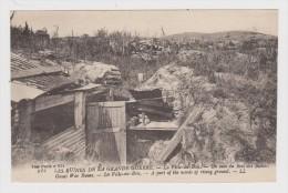 MILITARIA - Les Ruines De La Grande Guerre - La Ville Du Bois - Un Coin Du Bois - N° 814 - Non Circulée - 2 Scans - - Guerra 1914-18