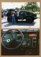 2 Photos Jeep Hummer - Non Classés