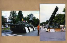 2 Photos Char De Dépannage Léopard - Militaria