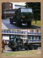 2 Photos Camion Militaire Daf - Non Classés