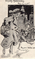 "Cpa 1917, ""visions Marocaines""  FEZ La Nuit, Dessin De ""maxi 16""  (42.91) - Humor"