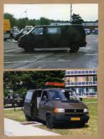 2 Photos Combi VW Volkswagen - Militaria