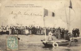 50 Quineville.Bapteme De La Barque Marie Madeleine - Autres Communes
