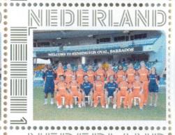 Persoonlijke Postzegel G12A2 Mobiele OKI531 Printer Hilversum 2014 NIEUW!! NL CRICKET Team 15 Maart 2012 Barbados - Netherlands