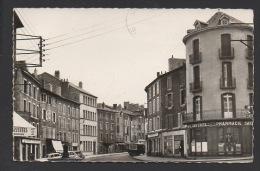 DF / 48 LOZÈRE / LANGOGNE / BOULEVARD DE GAULLE / PHARMACIE SAVINEL / CAMIONETTE SUZE / CIRCULÉE EN 1965 - Langogne