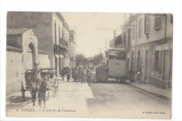 L1534 -  Coléa L'Arrivée De L'Autobus - Algérie
