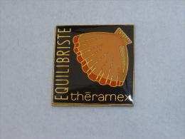 Pin's COQUILLAGE THERAMEX, EQUILIBRISTE - Animals