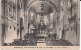 Institution Notre Dame De Grâce Cambrai Chapelle Intérieur - Cambrai