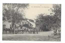 L1539 - Bouzaréah La Grand Rue Attelage - Algérie