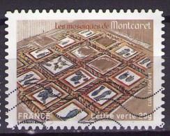 AA875 - Série Patrimoine : Mosaiques De Montcaret - Oblitéré - Année 2013 - Gebruikt