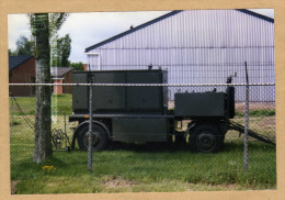 Photo Armée Belge - Militaria