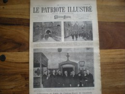 Le Patriote Illustré, 17/02/1924, L´ouverture Au Public De Château-musée De Gaesbeek  A - Oude Documenten