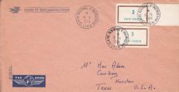 TIMBRES FICTIFS Sur  Enveloppe De Cours D´instruction  : Lyon CRE - Instructional Courses