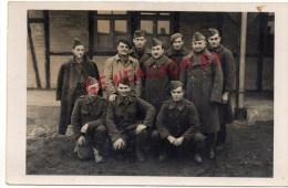 ALLEMAGNE - LUCKENWALD -CARTE PHOTO CAMP PRISONNIERS GUERRE 1939-1945-JEAN SAZERAT SAINT HILAIRE LES PLACES -PHOTO MEYER - Non Classés