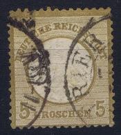 Germany: 1872 Mi. Nr 6, Used - Oblitérés