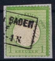 Germany: 1872 Mi. Nr 7, Used - Oblitérés