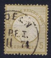 Germany: 1872 Mi. Nr 22 Used - Deutschland