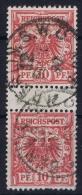 Germany: 1889 Mi. Nr 47 ZS   Used - Gebraucht