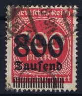 Germany: 1923 Mi. Nr 303 A  Used - Used Stamps