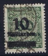 Germany: 1923 Mi. Nr 336 B , Used - Usati